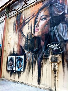 Matt Adnate Adnate is an Australian portrait painter who is using spray can and acrylic to create the faces of women and aborigine that are pushed up on 5 meter high walls and can be seen in New York, Berlin, Toulouse, and more | http://www.widewalls.ch/artist/adnate/