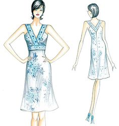 Love this style and construction. Must own this pattern!