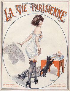 La Vie Parisienne Moda de los años 20-30