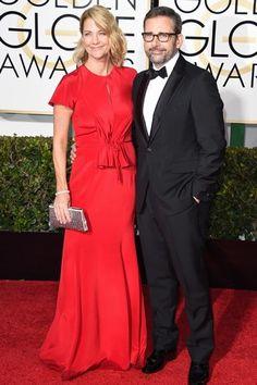 Globo de Ouro 2015 - Nancy Carell y Steve Carell
