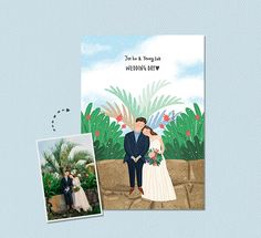 Wedding Card Invitation Couple 62 New Ideas Simple Wedding Cards, Simple Wedding Invitations, Wedding Invitation Cards, Wedding Illustration, Couple Illustration, Graphic Illustration, Wedding Arch Rustic, Wedding Plates, Affordable Wedding Venues