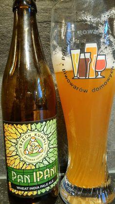 Trzech Kumpli Pan Ipani Wheat IPA. Watch the video beer review here www.youtube.com/realaleguide #CraftBeer #RealAle #Ale #Beer #BeerPorn #TrzechKumpli #Panipani #PolishCraftBeer #PolishBeer