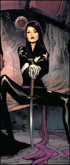 ✭ Psylocke  Auction your comics on http://www.comicbazaar.co.uk