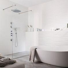Marabese Ceramics | Porcelanosa Oxo Line Blanco Tile