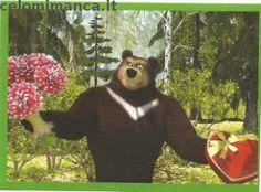 Masha and the bear - Masha e Orso: Fronte Figurina n. 84 -