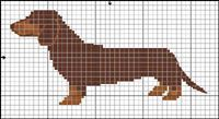 "Figure out additional details on ""dachshund pups"". Check out our website. Cross Stitch Charts, Cross Stitch Designs, Cross Stitch Patterns, Crochet Quilt, Crochet Cross, Cross Stitching, Cross Stitch Embroidery, Dachshund, Iron Beads"
