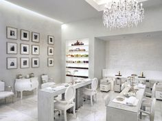 Beauty salon design, salon interior design, nail salon design, nail salon d Nail Salon Design, Nail Salon Decor, Hair Salon Interior, Spa Interior, Beauty Salon Decor, Salon Interior Design, Beauty Salon Design, Home Salon, Beauty Salons