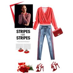 Stripes II by stellina-from-the-italian-glam on Polyvore featuring moda, Alasdair, stripesonstripes and PatternChallenge