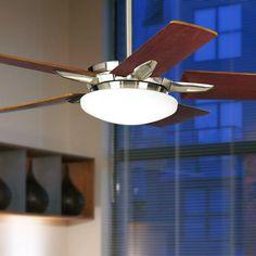 "52"" Casa Endeavor Brushed Nickel Ceiling Fan -"