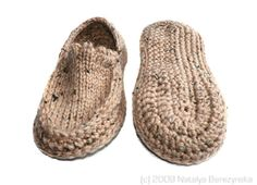 Knit Crochet Moccasin Slippers....a definite on my Christmas list!