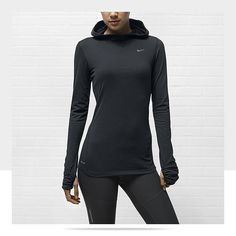 Nike Soft Hand Hoodie Women's Running Top  I live in my workout gear. If only I had another closet full of Nike