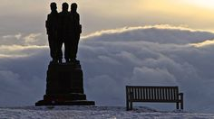 Commando memorial at Spean Bridge in Scotland