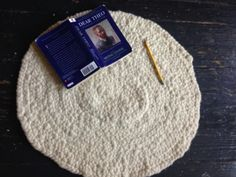 This says to use wool, but cotton or nylon rope would work also! Good tutorial.