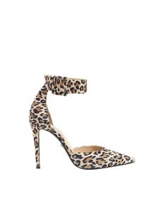 LOVE!!!  Diane von Furstenberg Buckie Ankle Strap Leopard Pump ($350)  You'll be surprised at the versatility of a classic leopard-print pump. @WhoWhatWear #dinamackneyfave #wild #shoes