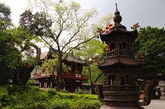Guangxiao Temple in Guangzhou, China