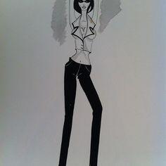 illustration fashion illustration illustrazione fashion croquis