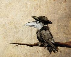 Nostradamus - un corvo intelligentissimo vestito come un Levi e che si occupa di portare messaggi da un Levi all'altro.