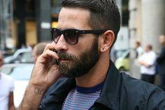 Beards, stubble, style