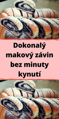 Czech Recipes, Ethnic Recipes, Sweet Life, Hot Dog Buns, Sushi, Bakery, Sweets, Bread, Homemade