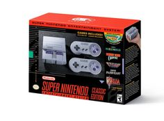 Nintendo will offer SNES Classic pre-orders in the U.S. in late August