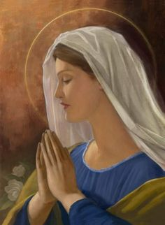 I Love You Mother, Mother Mary, Santa Maria, Jesus Christ Images, Christian Art, Christian Paintings, Mama Mary, Mary And Jesus, Holy Mary