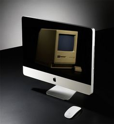 I still have an Apple Macintosh Plus ED and would love to have an iMac as well.