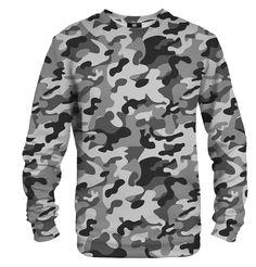 Mikina bez kapuce Šedý maskáč Sweatshirts, Sweaters, Fashion, Moda, Fashion Styles, Trainers, Sweater, Sweatshirt, Fashion Illustrations