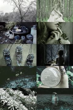 fairytale, frost, wicca aesthetic (more here)