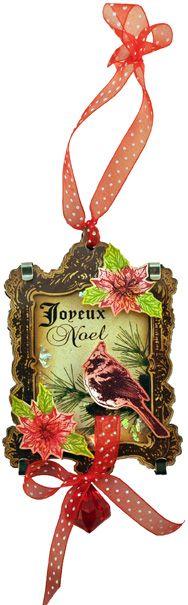 Acrylic Shadowbox Ornament