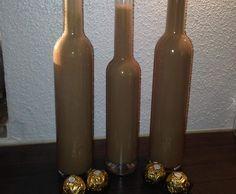 Rezept Ferrero Rocher Likör von Dree81 - Rezept der Kategorie Getränke