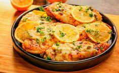 The Best Creamy Lemon Parmesan Chicken Piccata For Your Grand Dinner Pollo Piccata, Lemon Chicken Piccata, Chicken Lazone, Seitan Recipes, Penne, Yum Yum Chicken, Instant Pot, Stuffed Peppers, Meals