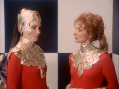"SPACE1999 ""DEVIL'S PLANET"" Eyestream Galleries- Galleries, Sci Fi, Ruffle Blouse, Plant, Actresses, Space, Women, Fashion, Female Actresses"
