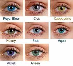 97c4457253 Lentes De Contacto Cosmeticos, Sombras De Ojos, Colores Para Morenas,  Tatuajes Dee Flecha
