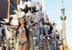 浅草サンバカーニバル(東京) Asakusa Samba Carnival, Tokyo, Japan