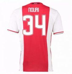 16-17 Ajax Home #34 Nouri Cheap Replica Jersey [G00719]