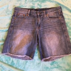 J. crew denim shorts This is a pair of good condition shorts size 27 they are very soft and lightweight denim. J. Crew Shorts Jean Shorts