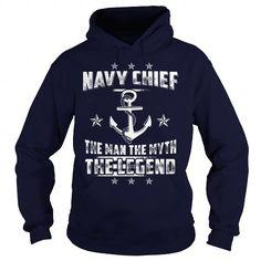 Awesome Tee Navy Chief The Legend T shirts #tee #tshirt #named tshirt #hobbie tshirts #Navy