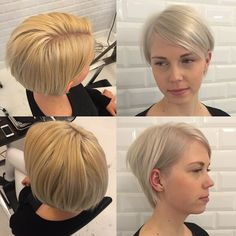 Sweet @camillarifbjerg had her hair dyed at another place. I fixed it and made her a lovely silverblond babe . #copenhagen #københavn #vesterbro #bleach #silverblond #womenshair #hairdresser #hairstylist #haircolor #instahair #hairbykatrineschristensen #frisør #hairbrained