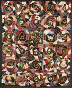 Philadelphia Museum of Art - Collections Object : Crazy Quilt