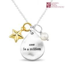 National Breast Cancer Foundation Inspirational Jewelry - Sterling Silver One In a Million   Pendant A portion of all sales go to The National Breast Cancer Foundation! Https%3a%2f%2fs3.amazonaws.com%2ftanga-images%2ftj69hx7cwb6a