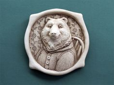 """Chair Bear from """"Distinguished Beasts"""" Series 