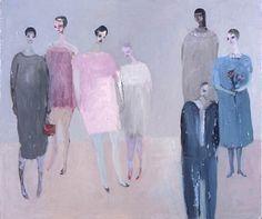 Familiar strangers by Kristin Vestgard - artist - Cornwall