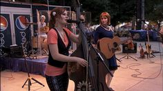 the Redhead Express of Alaska's four sisters perform at the y2015 IOWA STATE FAIR