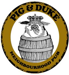 Pig & Duke Pub in Calgary - Hophead IPA and Thirsty Beaver Amber Ale on tap since they opened Beer Brewing, Ipa, Calgary, Duke, Amber, Spaces, Drink, Beverage, Drinking