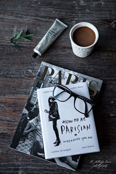 How to be a Parisian -the fun way. Good list of French websites for women especially to practice reading French.