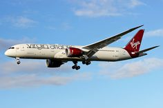 Virgin Atlantic Airways Boeing 787-9 Dreamliner (registration number G-VNEW)