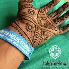 Male henna design by Toko Mehndi
