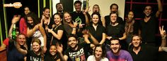 Webnode Team after Laser Game! :)