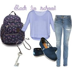 cool and hip back to school outfit