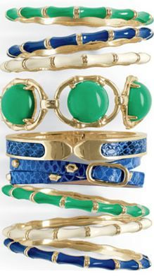 Great colors from Stella & Dot - also means you can keep your blue or green jeans longer ... !
